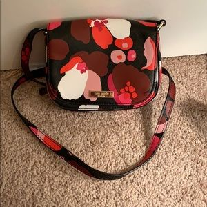 new kate sods floral purse